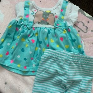 Disney baby Dumbo outfit